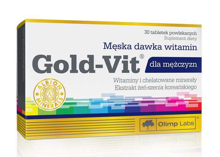Gold-Vit for Men Olimp (30 таб)