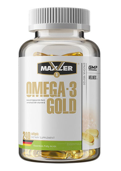 Omega-3 Gold (DE) Maxler (240 Softgel)
