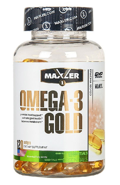 Omega-3 Gold (USA) Maxler (120 Softgel)