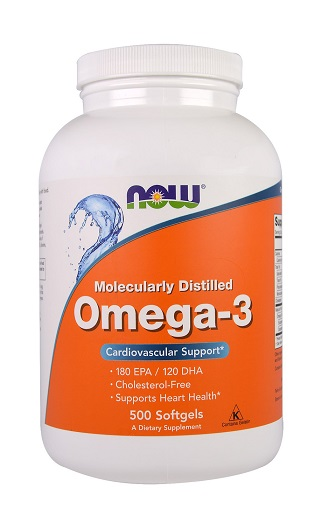 Omega-3 NOW (500 Softgels)