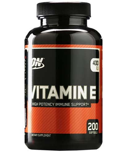 Vitamin E Optimum Nutrition (200 гелькапсул)