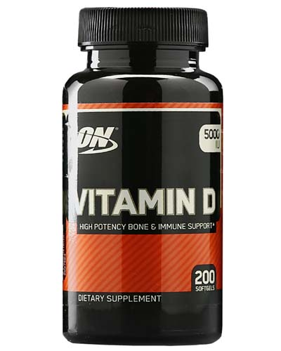 Vitamin D Optimum Nutrition (200 softgels)