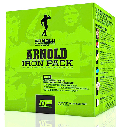 Iron Pack MusclePharm Arnold Series (30 пак)