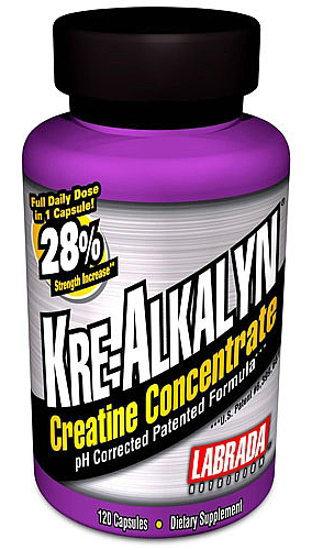 Kre-Alkalyn Labrada Nutrition (120 кап)
