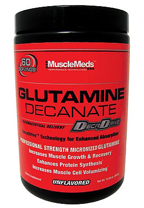 Glutamine Decanate MuscleMeds (300 gr)