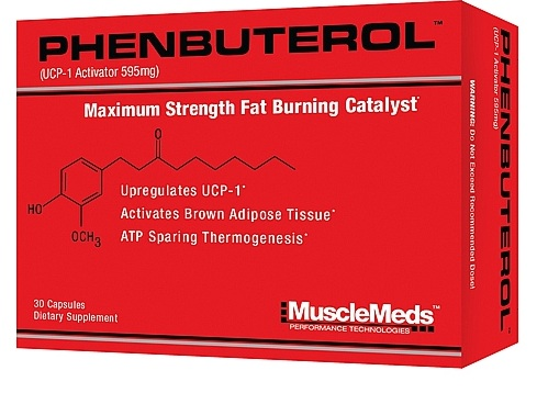 Phenbuterol MuscleMeds (30 кап)