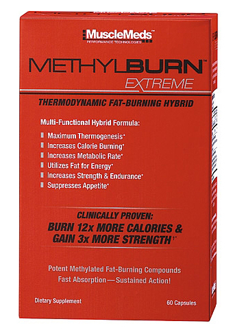 MethylBURN Extreme MuscleMeds (60 cap)