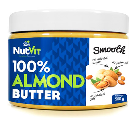 100% Almond Butter Smooth OstroVit (500 гр)