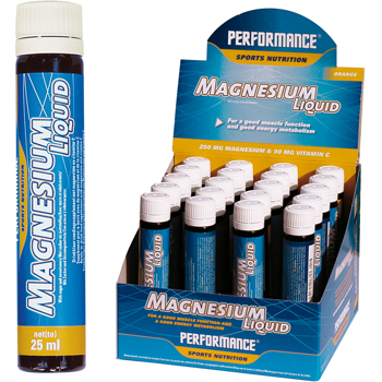 Magnesium Liquid Performance (20 x 25 ml)