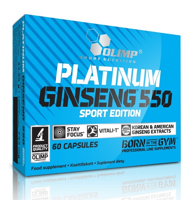 Platinum Ginseng 550 Sport Edition Olimp (60 caps)