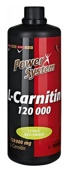 L-Carnitin 120000+ Power System (1000 ml)