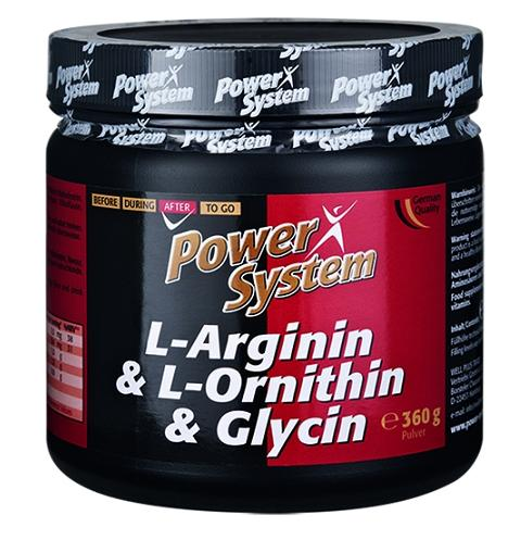 L-Arginin / L-Ornithin / Glycin Power System (360 гр)