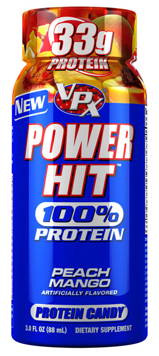Power Hit Protein Shot VPX (6 шт x 88 мл)