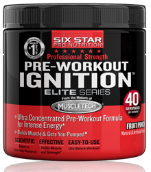 Pre-Workout Ignition Elite Series Six Star (240 гр)