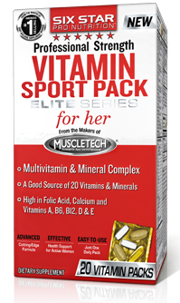 Vitamin Sport Pack Elite Series for her (20 pac)
