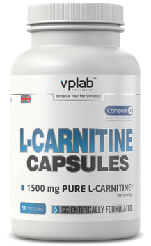 L-Carnitine Capsules VPLab Nutrition (90 кап)