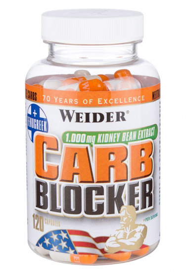 Carb Blocker Weider (120 cap)