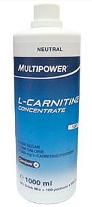 L-Carnitine Concentrate Multipower (1 л)