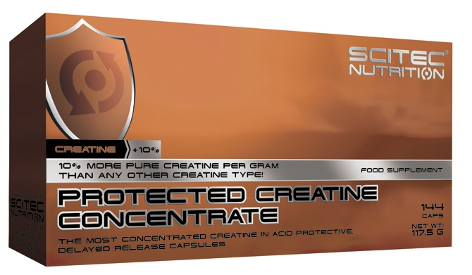 PROTECTED CREATINE CONCENTRATE SCITEC NUTRITION (144 cap)