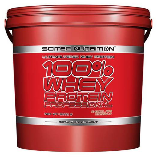 100% WHEY PROTEIN PROFESSIONAL SCITEC NUTRITION (5000 гр)
