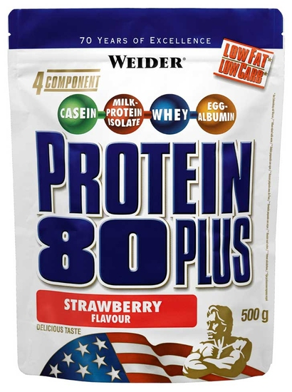 Protein 80 Plus Weider (500 гр)(годен до 03/2017)