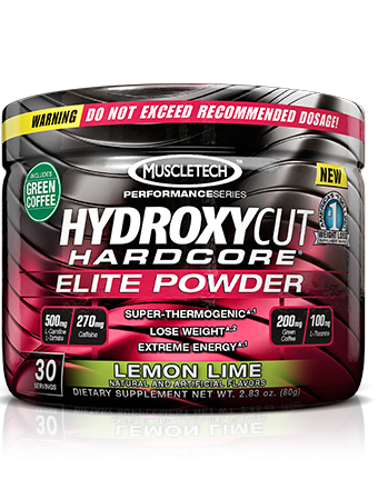 Hydroxycut Hardcore Elite Powder (80 гр)