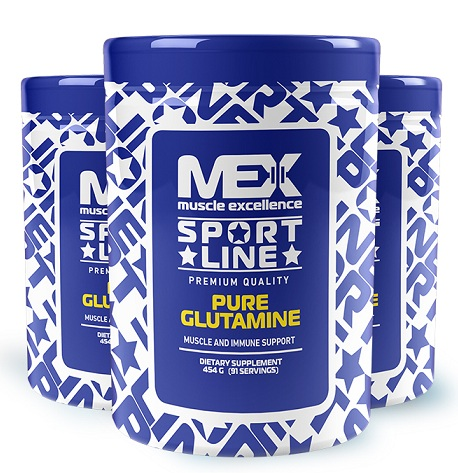 Pure Glutamine MEX Nutrition (454 гр)