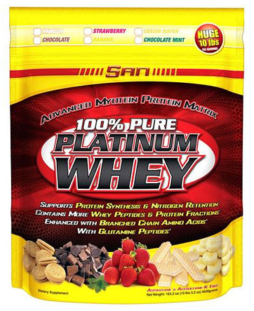 100% Pure Platinum Whey (VoluMass)(4628 гр)