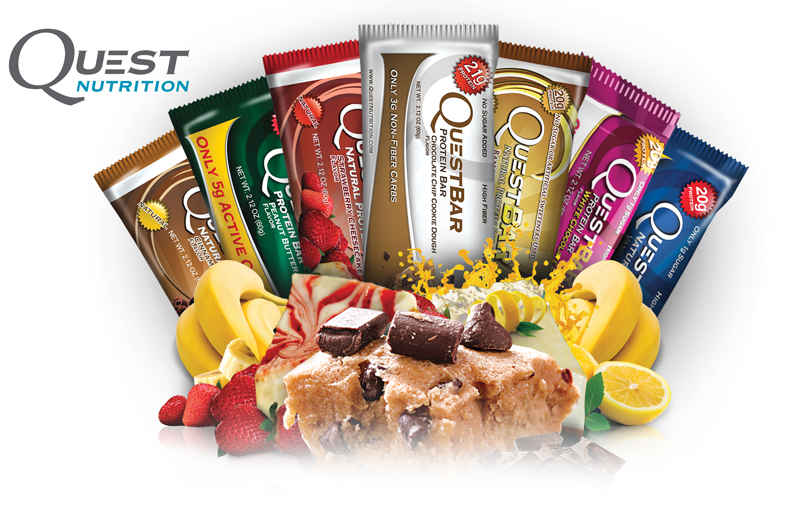 Questbar+Cravings (mix 22 bar x 60 gr)