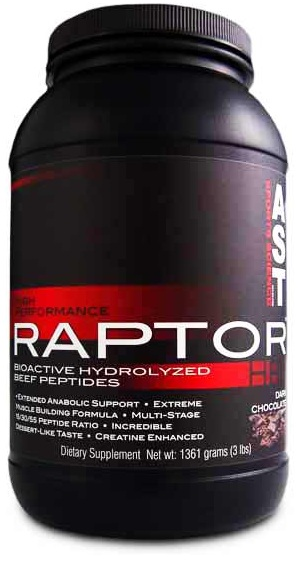 Raptor (Hydrolyzed beef protein) АSТ (1360 gr)