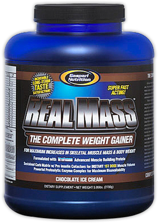 Real Mass Gaspari Nutrition (2700 гр)