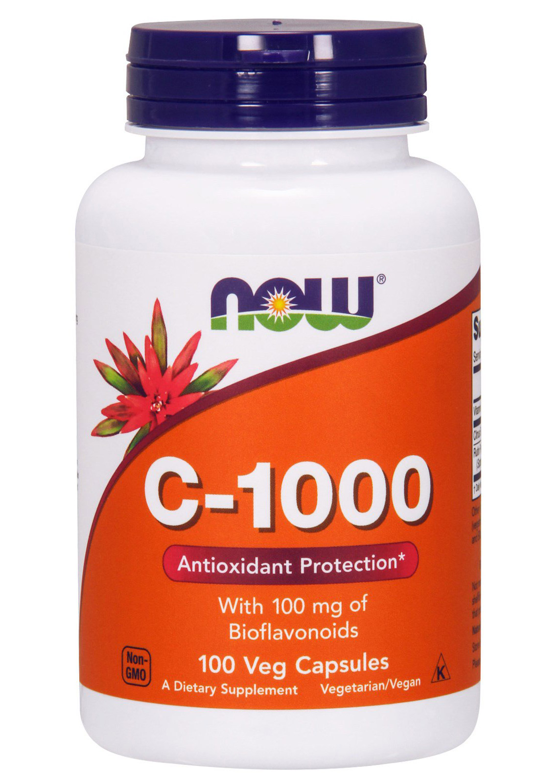 Vitamin C-1000 NOW (100 veg caps)