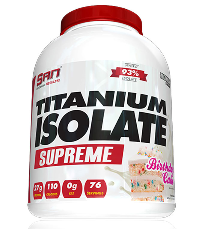 Titanium Isolate Supreme SAN (2254 gr)