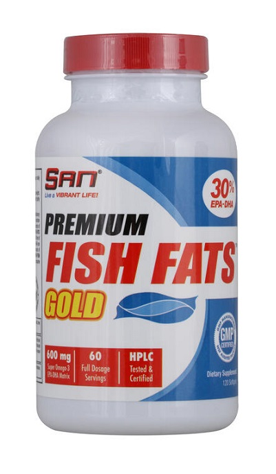 Premium Fish Fats Gold SAN (60 cap)