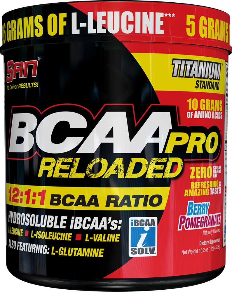 BCAA Pro Reloaded SAN (456 гр)