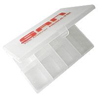 Кейс для капсул SAN белый (11,5 см х 8 см х 3,5 см)