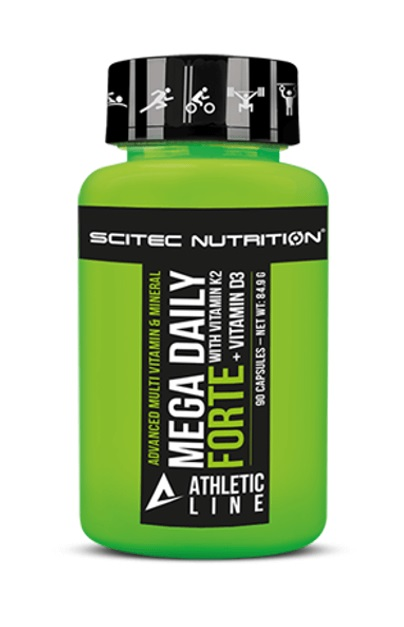 Mega Daily Forte Athletic Line Scitec Nutrition (90 кап)