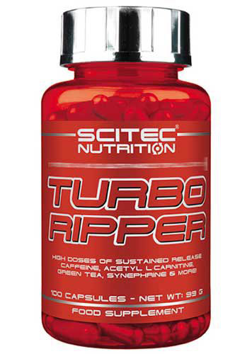 TURBO RIPPER SCITEC NUTRITION (100 кап)