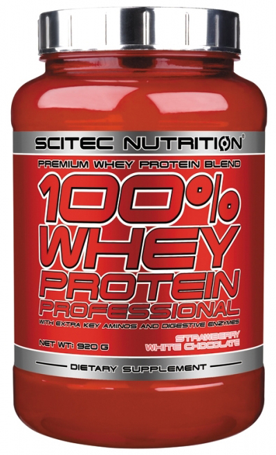 100% WHEY PROTEIN PROFESSIONAL SCITEC NUTRITION (920 гр)