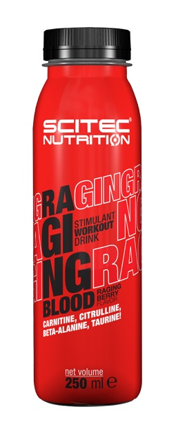 RAGING BLOOD SCITEC NUTRITION (12 x 250 ml)(EXP 30/11/2019)