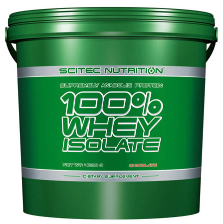 100% WHEY ISOLATE SCITEC NUTRITION (4000 gr)