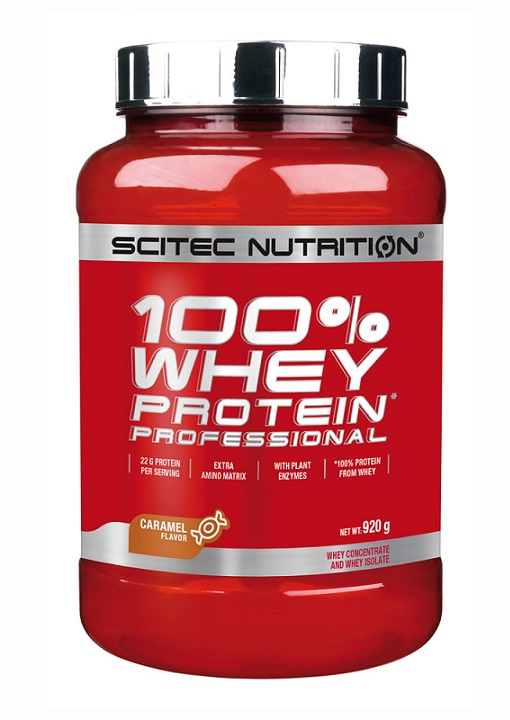 100% WHEY PROTEIN PROFESSIONAL SCITEC NUTRITION (920 gr)