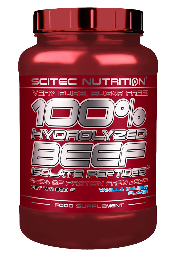 100% HYDROLYZED BEEF ISOLATE PEPTIDES SCITEC NUTRITION (900 гр)