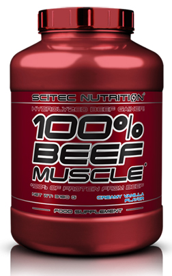100% BEEF MUSCLE SCITEC NUTRITION (3180 гр)