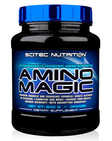 AMINO MAGIC SCITEC NUTRITION (500 gr)