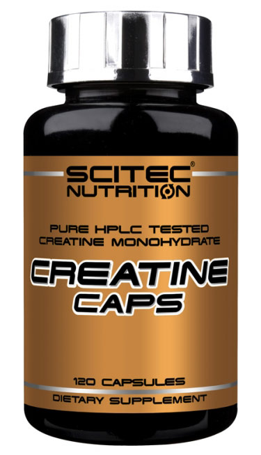 CREATINE CAPS SCITEC NUTRITION (120 кап)