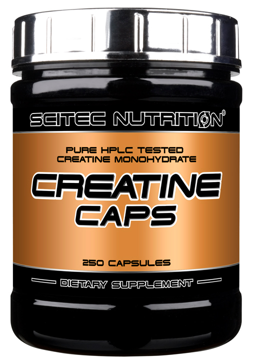 CREATINE CAPS SCITEC NUTRITION (250 кап)