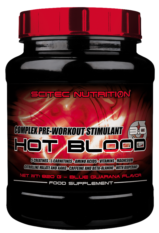 HOT BLOOD 3.0 SCITEC NUTRITION (820 гр)
