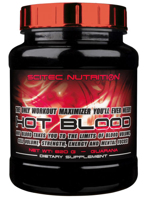 HOT BLOOD SCITEC NUTRITION (820 гр)