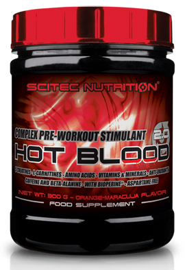 HOT BLOOD 2.0 SCITEC NUTRITION (300 гр)